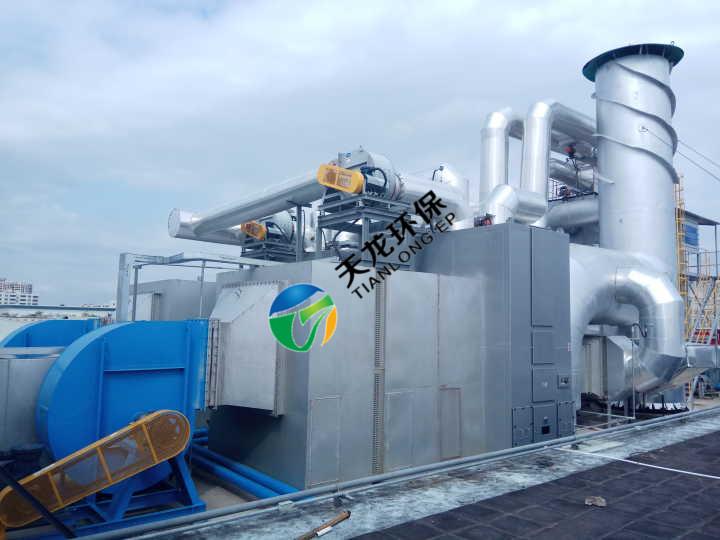 沸石转轮浓缩蓄热氧化装置