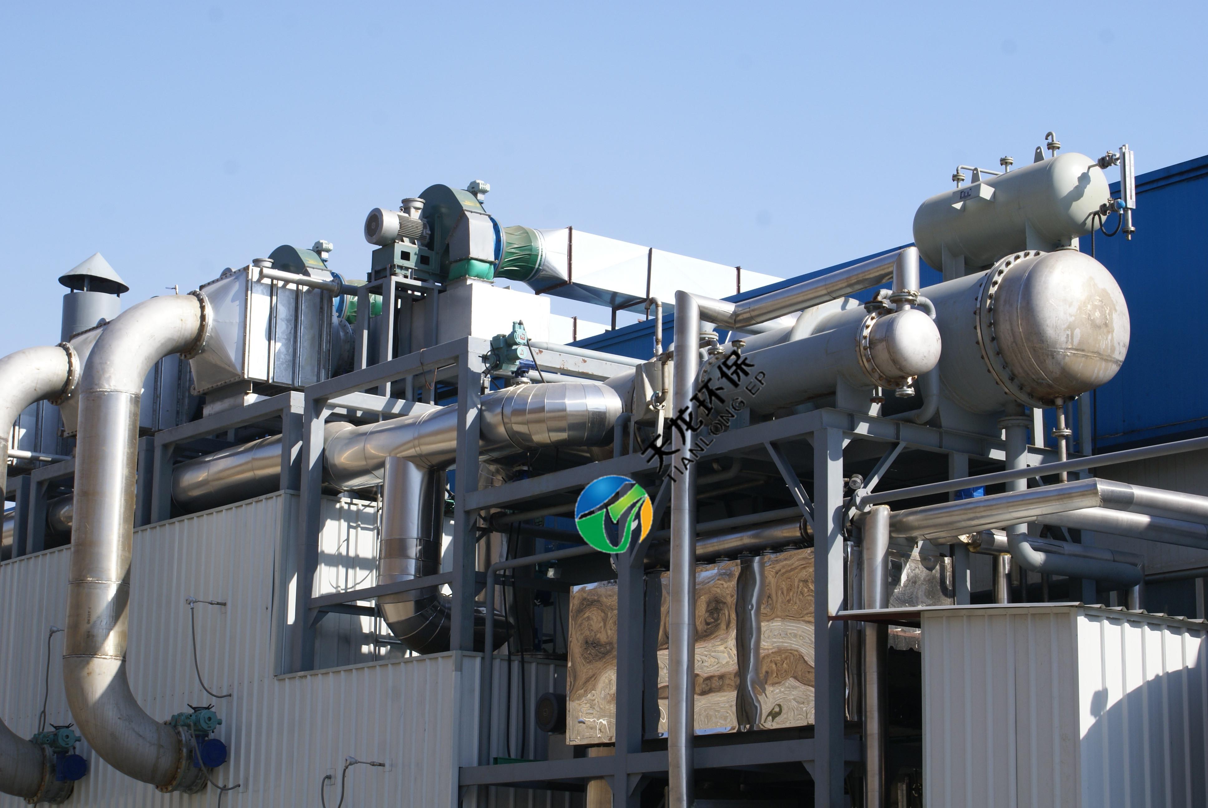 废气净化溶剂回收设备