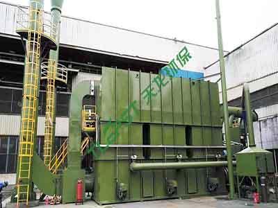 船舶制造行業蓄熱氧化(RTO)裝置