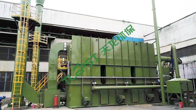 船舶制造行业蓄热氧化装置(RTO)