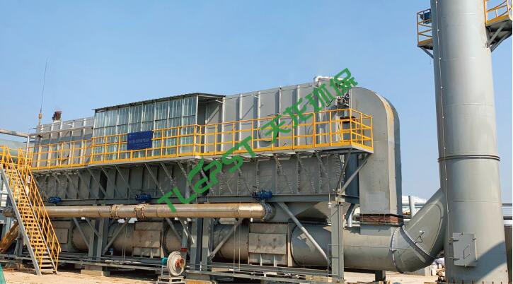 化工行业新材料生产线有机废气治理装置