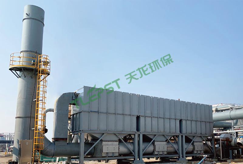深圳牛牛现金新原料生产线有机废气治理装置