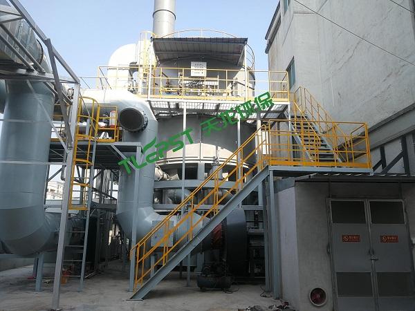 沸石轉輪濃縮+多閥蓄熱氧化裝置RTO