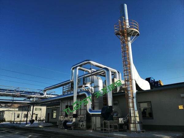 沸石轉輪濃縮+蓄熱氧化裝置RTO