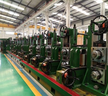 華北地區高精度焊管設備