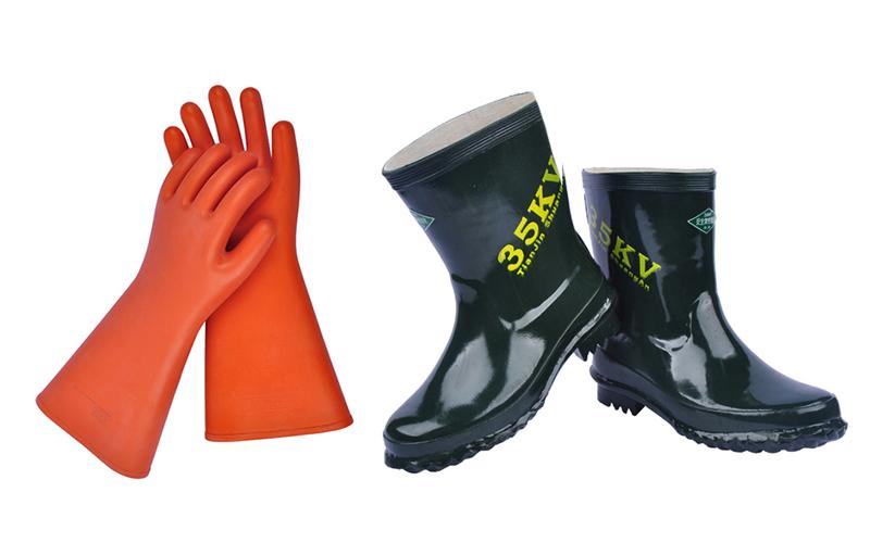 絕緣手套和絕緣靴的使用規范