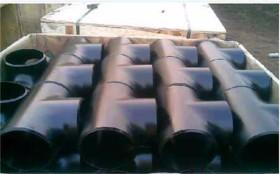 大口径环氧煤沥青防腐三通