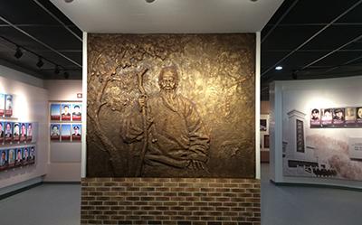 展馆铸铜浮雕