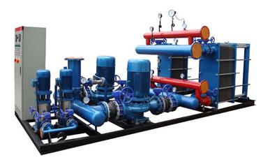 高低温换热混水机组