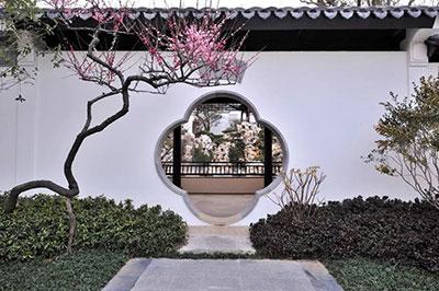 中式仿古庭院