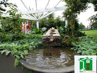中式花圃設計