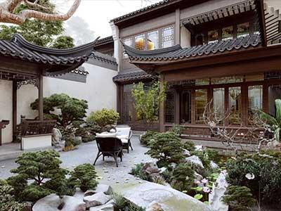 中式景不雅設計