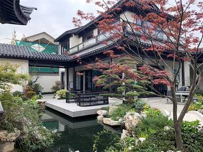 獨棟別墅庭院設計