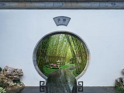 新中式花園設計