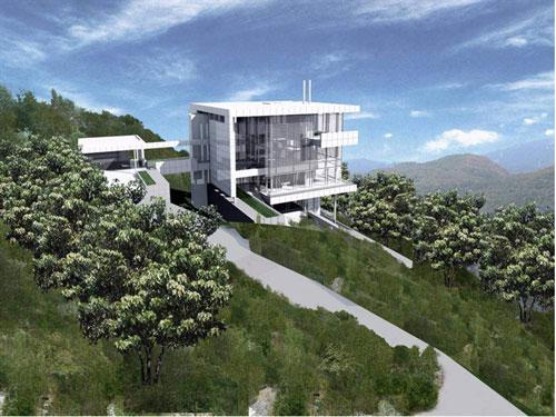 山地别墅设计