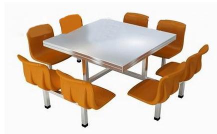 八人快餐餐桌椅