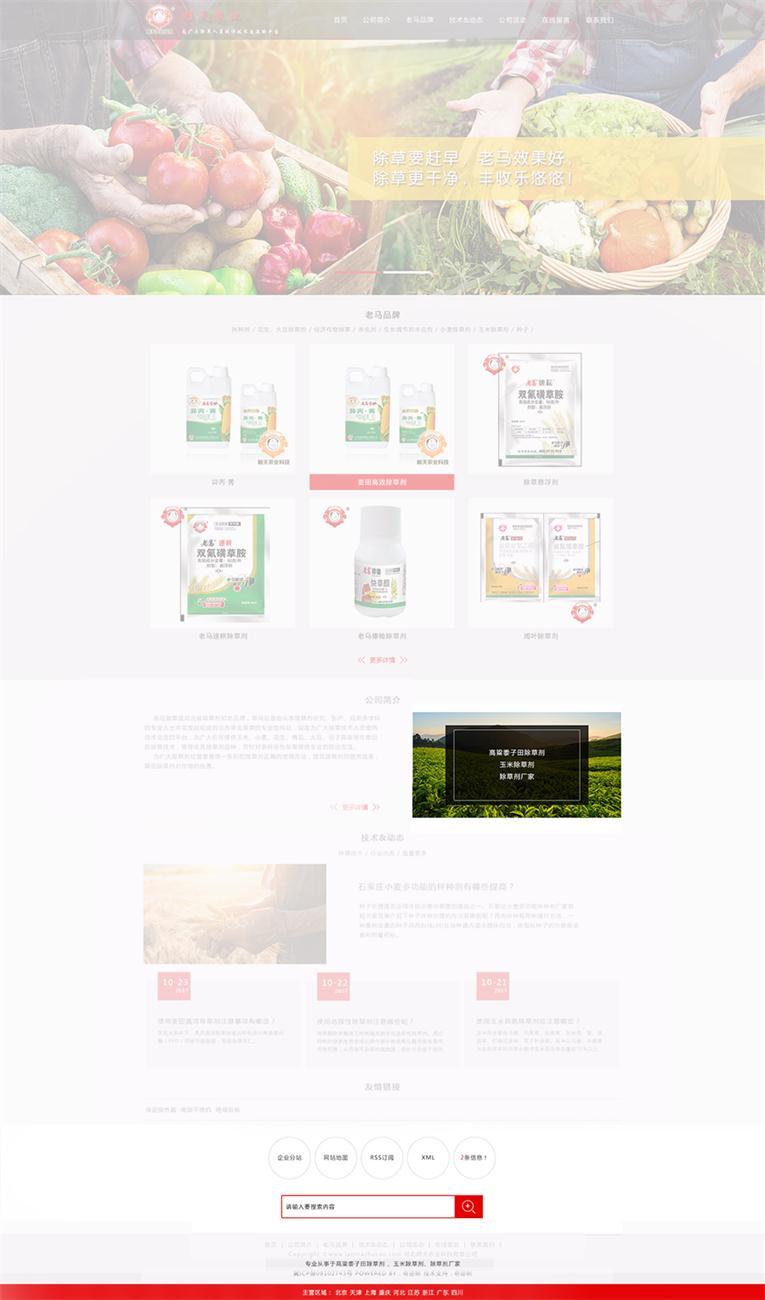 一键营销型网站升级切换
