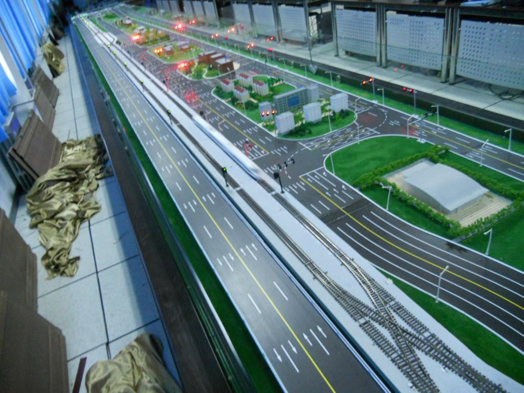 轨道交通沙盘模型
