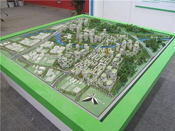深圳国际低碳城-核心启动区模型