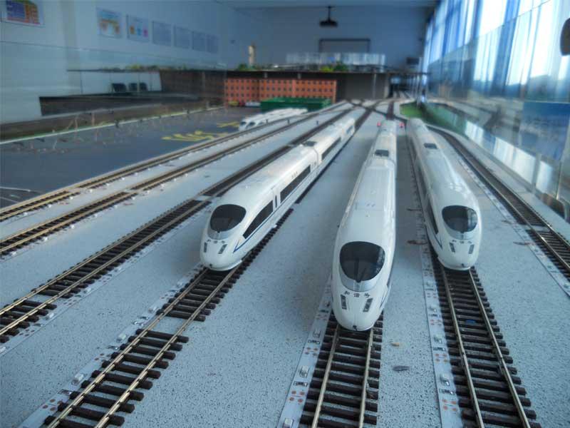 火车轨道沙盘模型