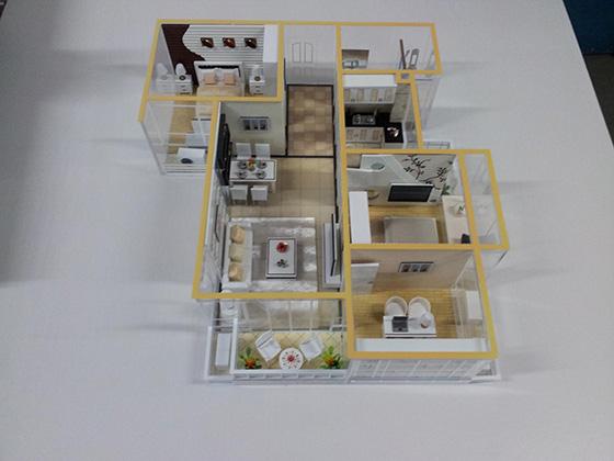 售楼部沙盘模型