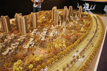 木质模型沙盘