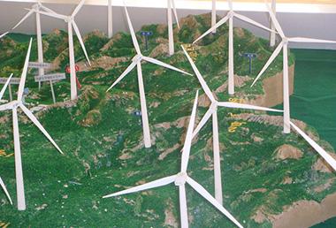 太陽能風力發電模型