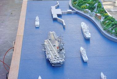 軍艦船模型