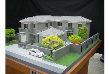 單體別墅模型