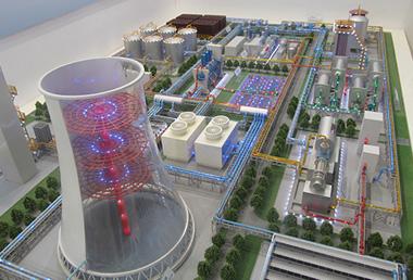 電廠設備模型