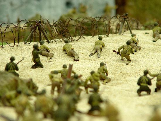 軍事沙盤模型制作