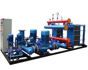 高低溫換熱混水機組