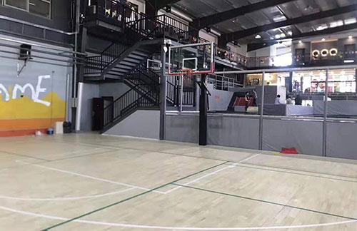 北京朝阳室内篮球场木地板