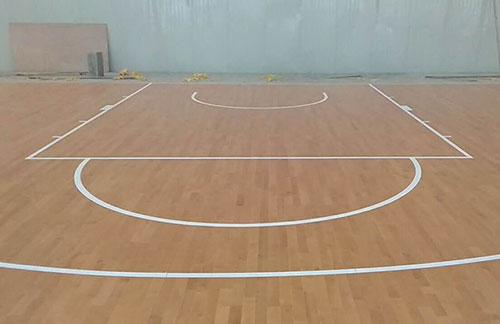 秦皇岛鸣逸体育运动中心木地板