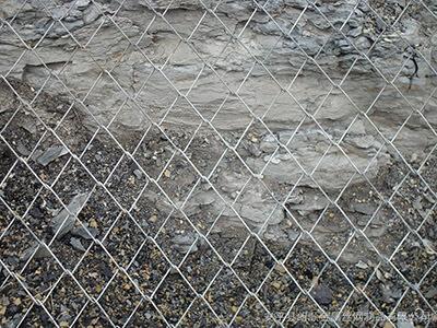 边坡勾花网