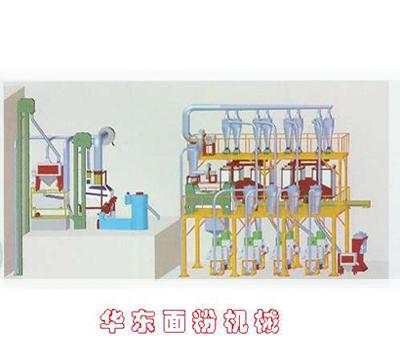 6FTF-38钢架筛外提皮方筛提粉机