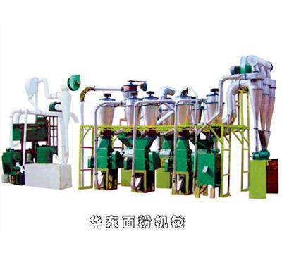 28型圓篩製粉成套麵粉機
