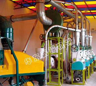 8噸玉米麵粉機成套設備