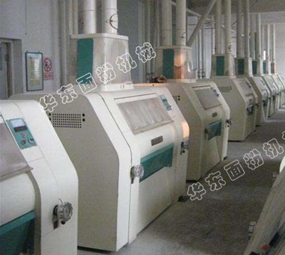 250噸大型麵粉機械設備