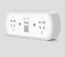 雙路智能充電插座(新款)