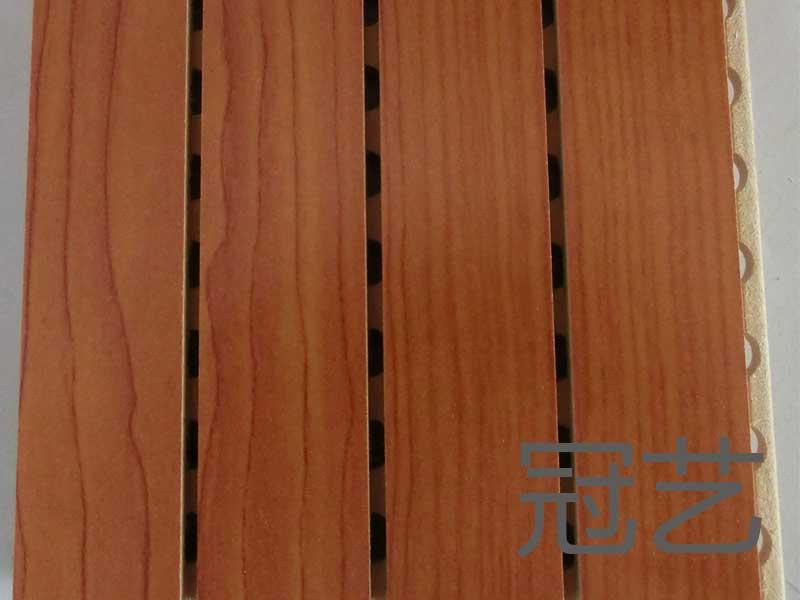 槽孔型吸音板