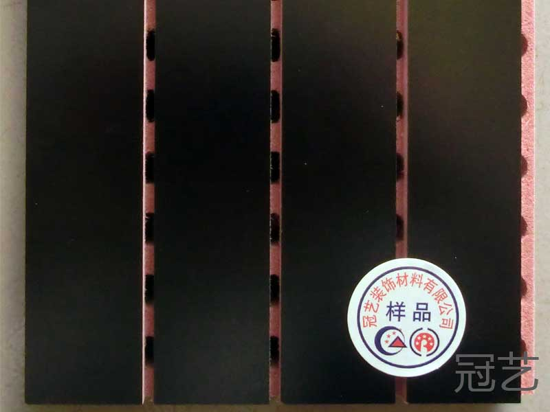 黑木质吸音板