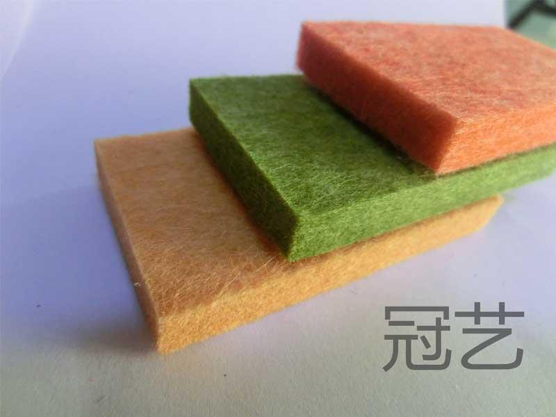 张家口学校幼儿园聚酯纤维吸音板
