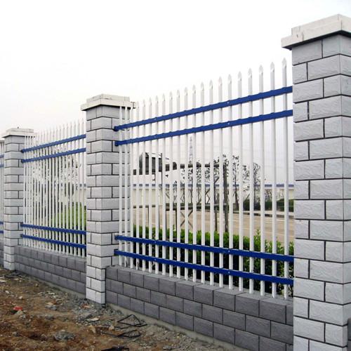 锌钢护栏 四横杆型