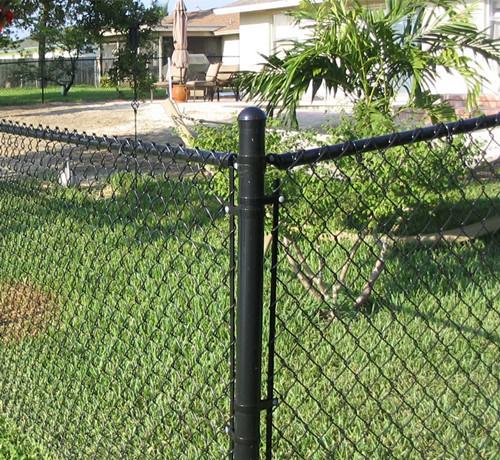 围墙勾花网护栏
