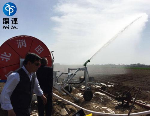 赵县卷盘式灌溉工程