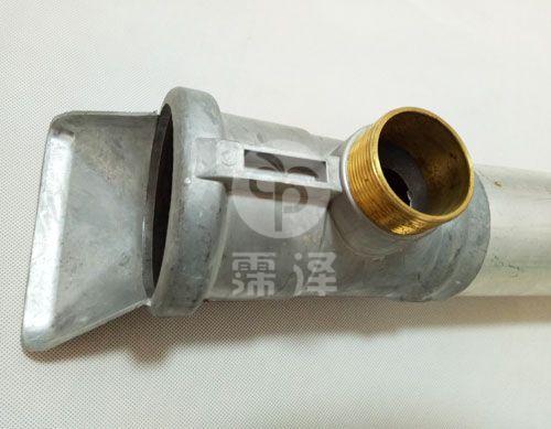 外丝铝三通连接铝管