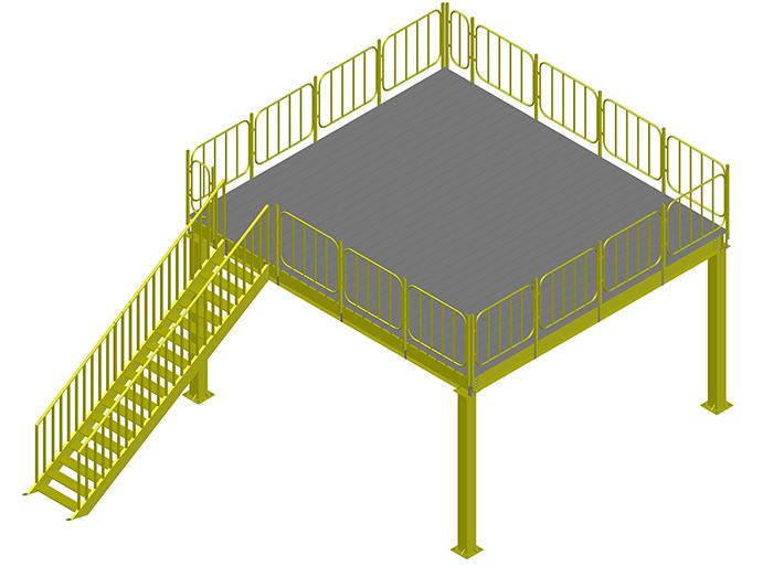 石家莊鋼結構平臺