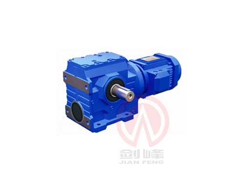 温州S系列斜齿轮蜗杆减速电机