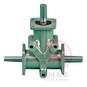 ARA型螺旋升降机配合用锥齿轮箱
